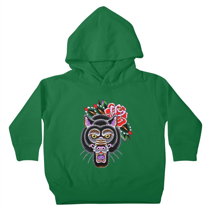Wolf Kids Toddler Pullover Hoody by Studio 617's Artist Shop