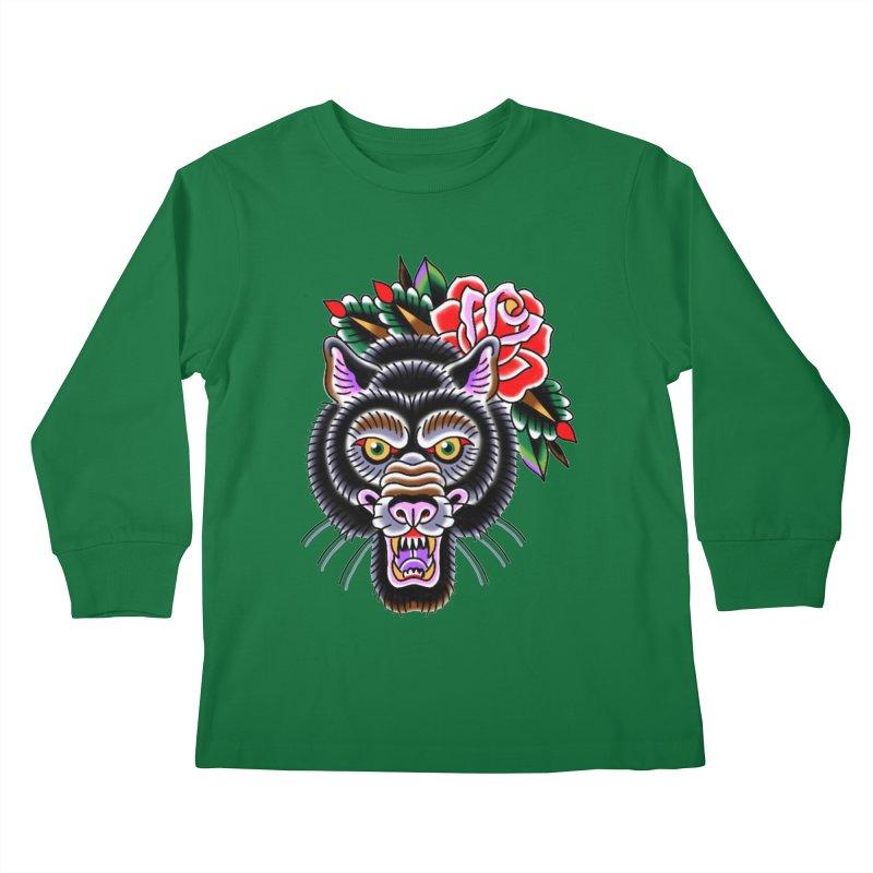 Wolf Kids Longsleeve T-Shirt by Studio 617's Artist Shop