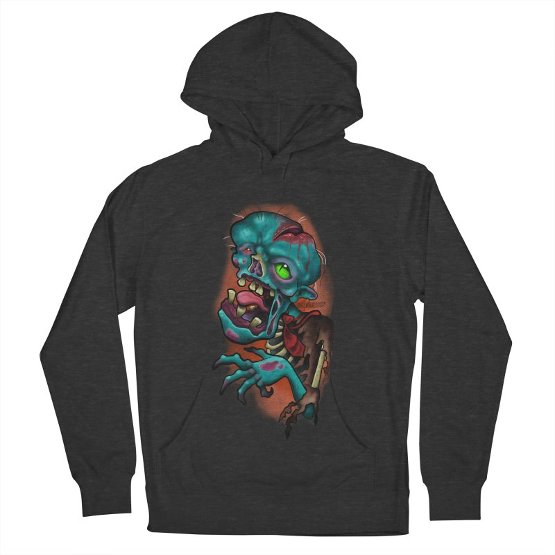 Zomboy Women's French Terry Pullover Hoody by Studio 617's Artist Shop