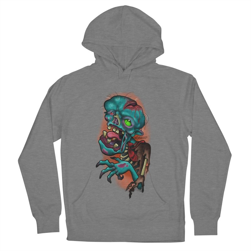 Zomboy Men's French Terry Pullover Hoody by Studio 617's Artist Shop