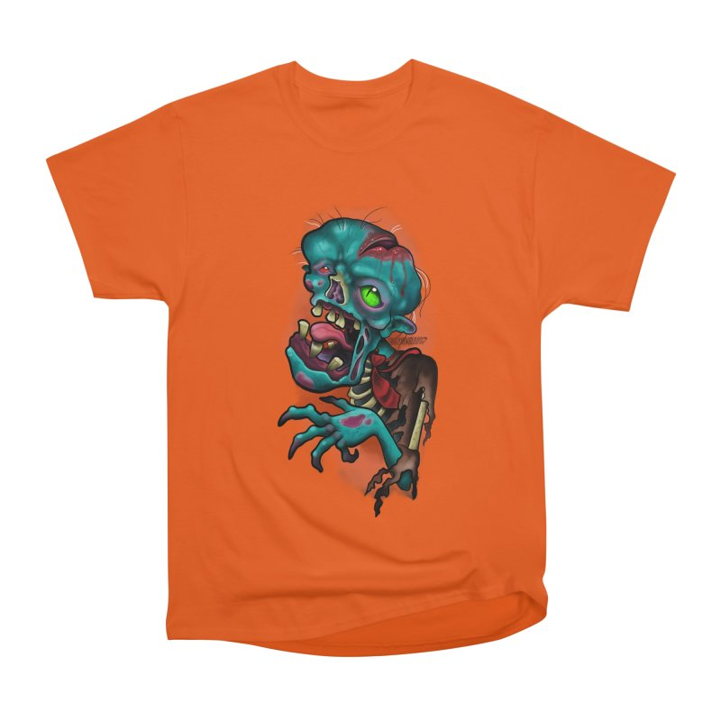 Zomboy Women's Heavyweight Unisex T-Shirt by Studio 617's Artist Shop