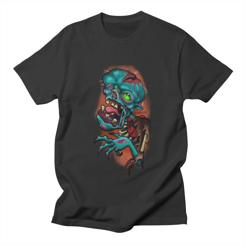 Zomboy Men's Regular T-Shirt by Studio 617's Artist Shop