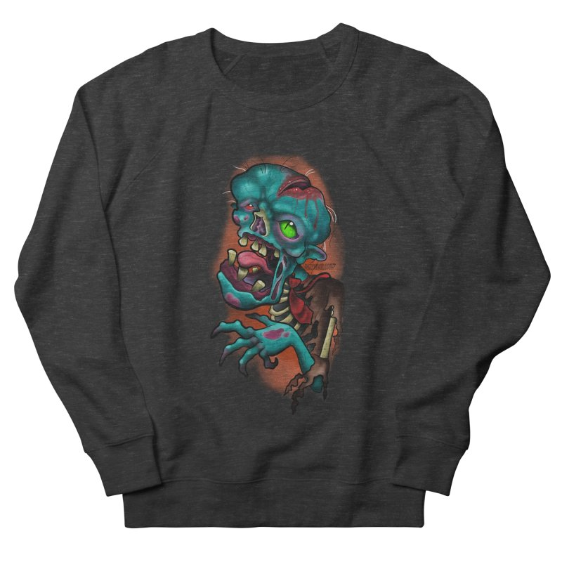 Zomboy Men's French Terry Sweatshirt by Studio 617's Artist Shop