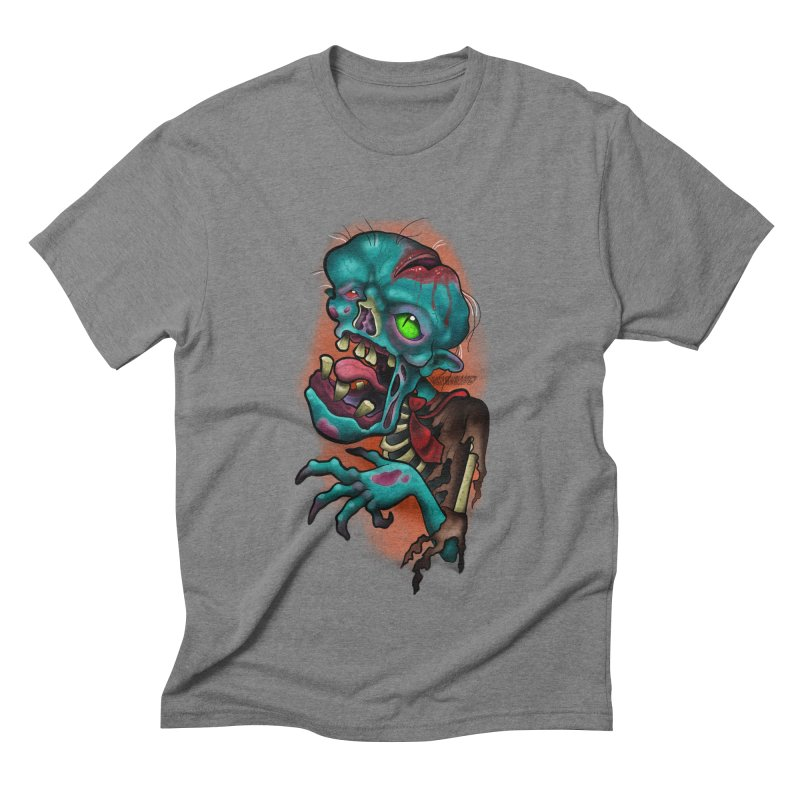 Zomboy Men's Triblend T-Shirt by Studio 617's Artist Shop