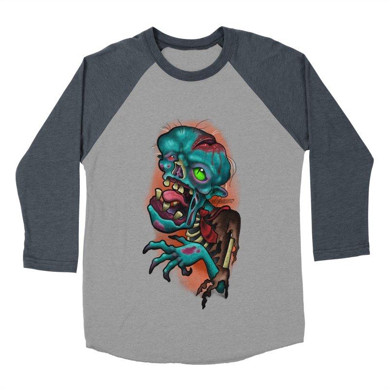 Zomboy Women's Baseball Triblend Longsleeve T-Shirt by Studio 617's Artist Shop