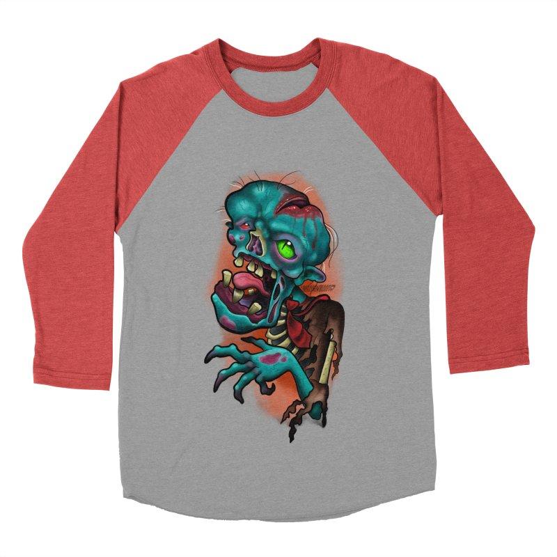 Zomboy Men's Baseball Triblend Longsleeve T-Shirt by Studio 617's Artist Shop