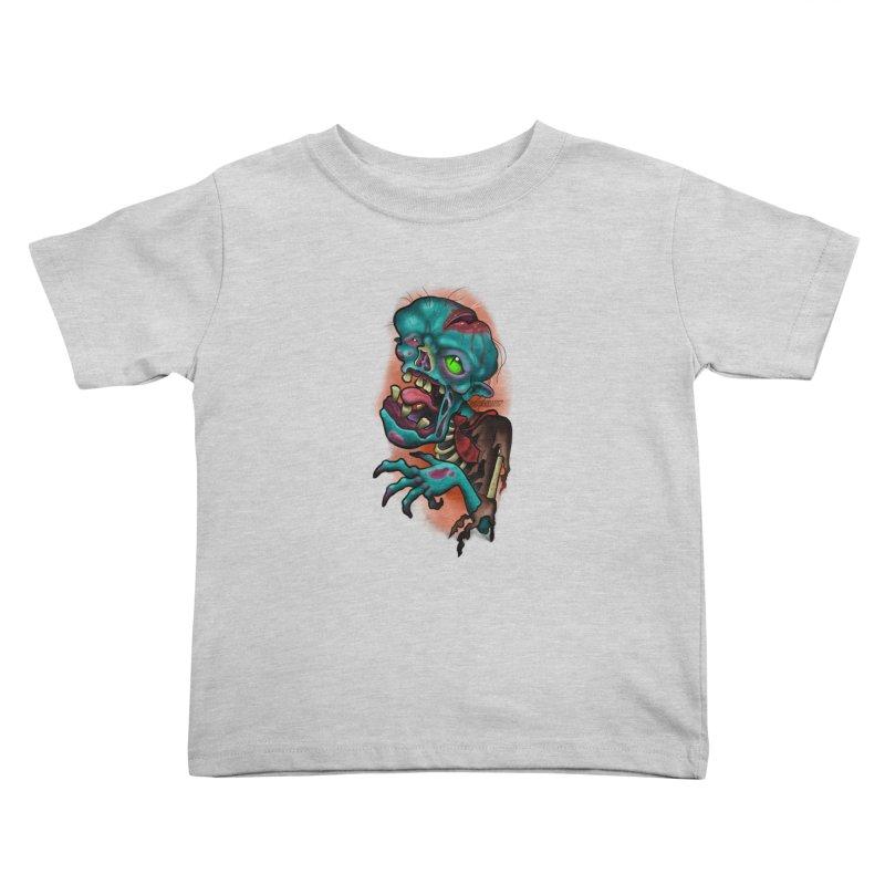 Zomboy Kids Toddler T-Shirt by Studio 617 Tattoos