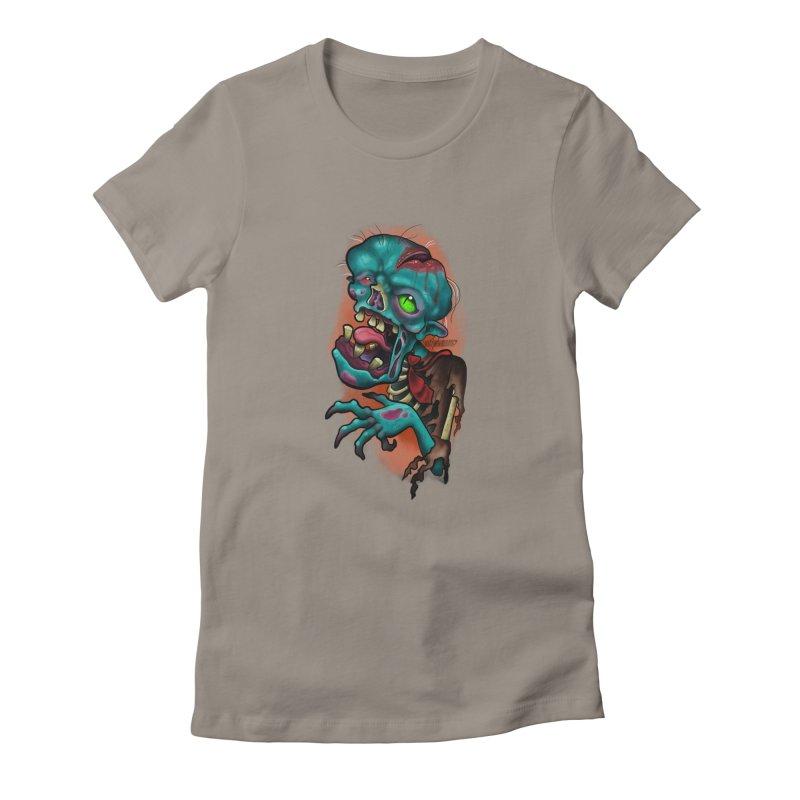 Zomboy Women's T-Shirt by Studio 617 Tattoos