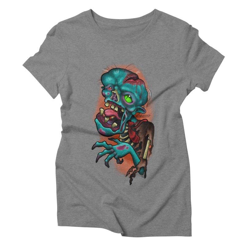 Zomboy Women's Triblend T-Shirt by Studio 617's Artist Shop