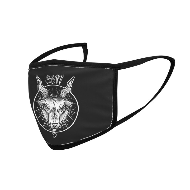 Baphomet Accessories Face Mask by Studio 617 Tattoos
