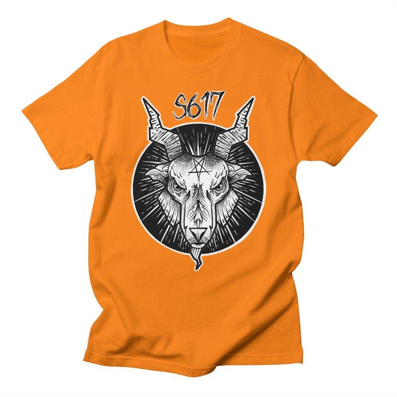 Baphomet Men's T-Shirt by Studio 617 Tattoos