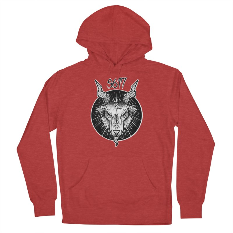 Baphomet Women's French Terry Pullover Hoody by Studio 617's Artist Shop