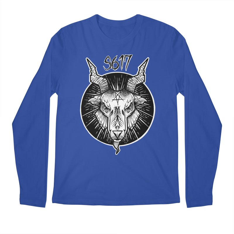 Baphomet Men's Regular Longsleeve T-Shirt by Studio 617's Artist Shop