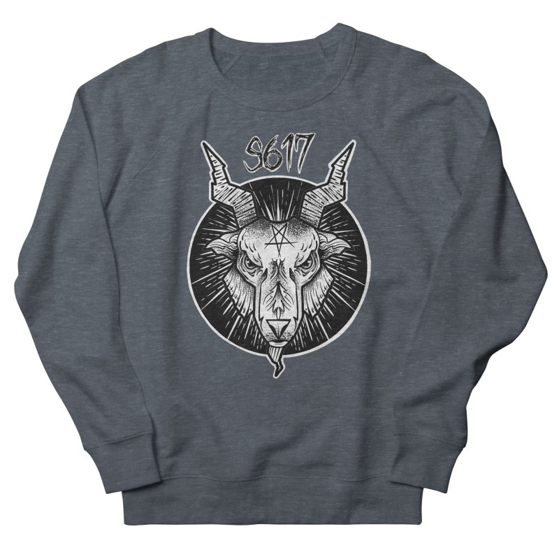 Baphomet Men's French Terry Sweatshirt by Studio 617's Artist Shop