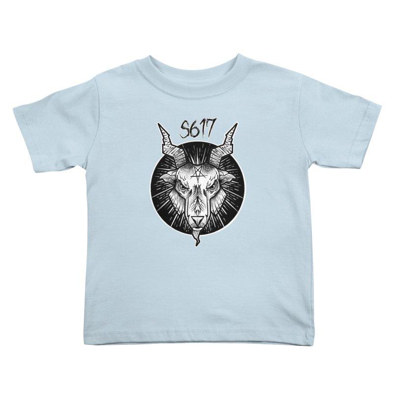 Baphomet Kids Toddler T-Shirt by Studio 617's Artist Shop