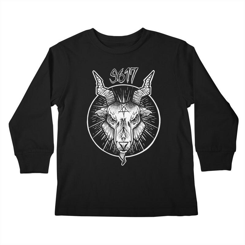 Baphomet Kids Longsleeve T-Shirt by Studio 617's Artist Shop