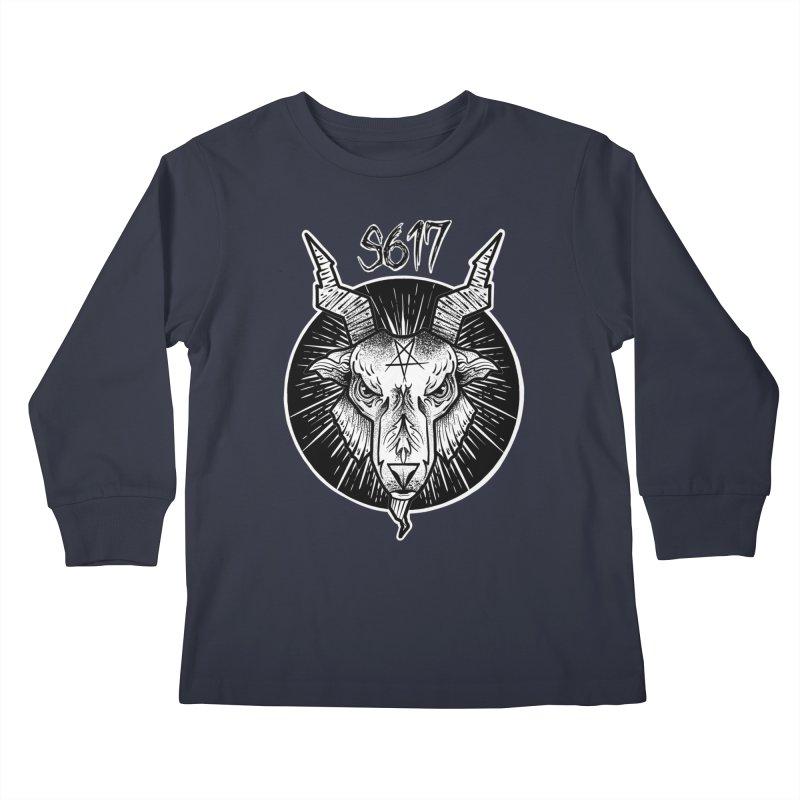 Baphomet Kids Longsleeve T-Shirt by Studio 617 Tattoos