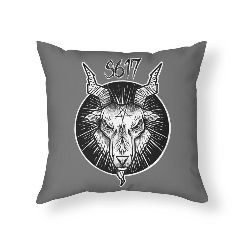 Baphomet Home Throw Pillow by Studio 617's Artist Shop