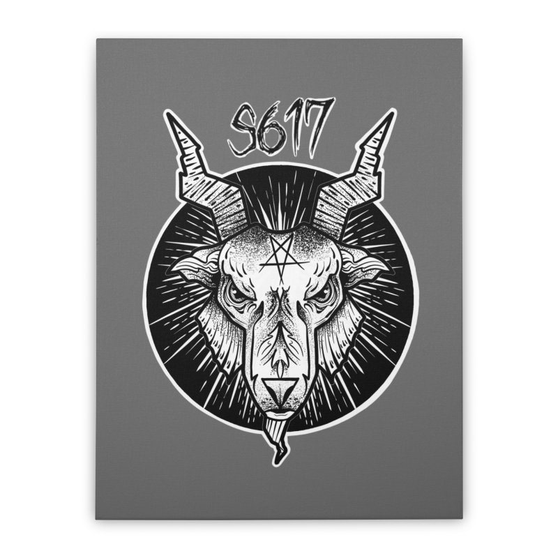 Baphomet Home Stretched Canvas by Studio 617's Artist Shop