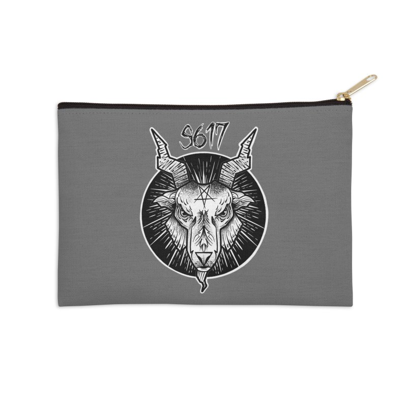 Baphomet Accessories Zip Pouch by Studio 617's Artist Shop