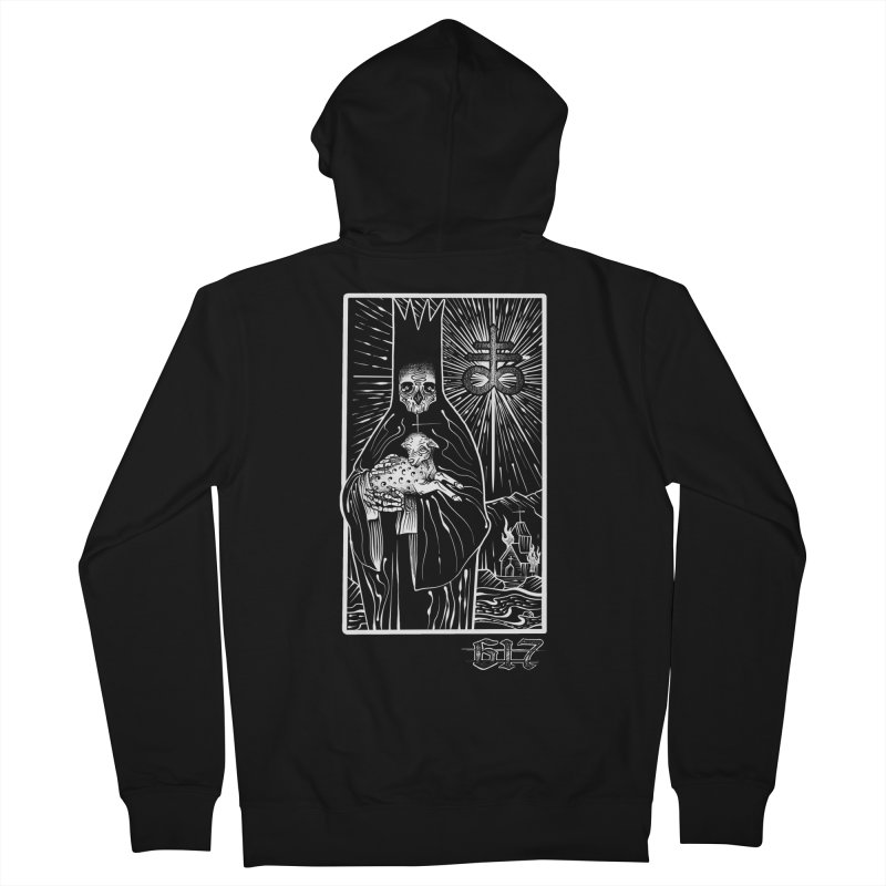 Tarot Women's French Terry Zip-Up Hoody by Studio 617's Artist Shop
