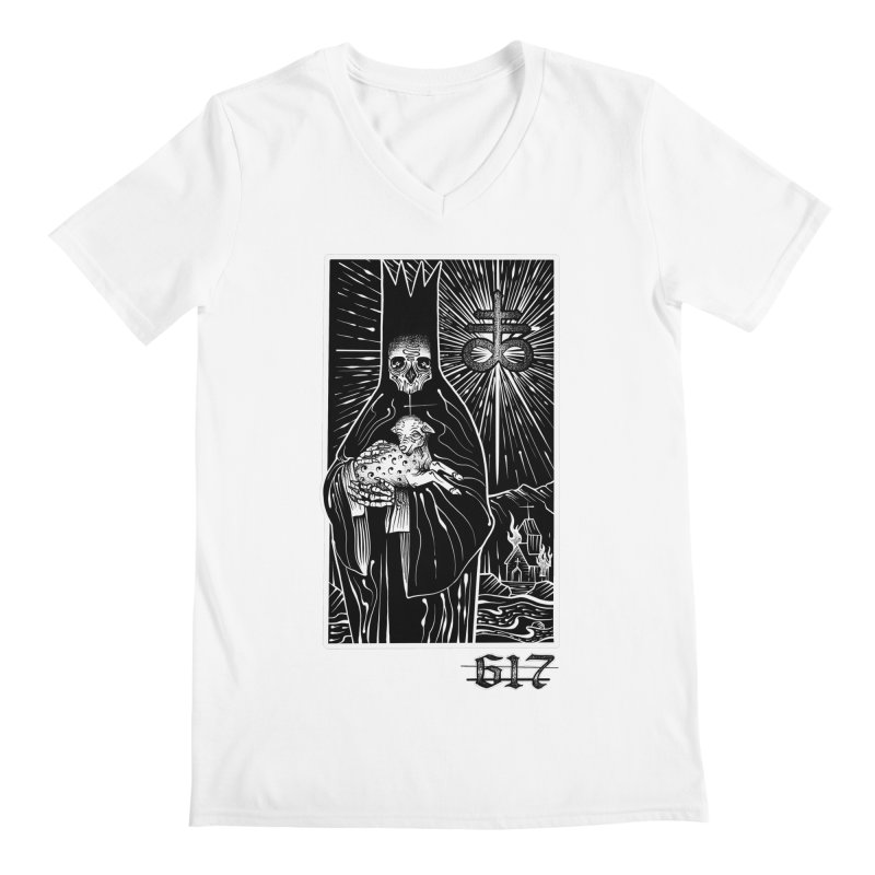 Tarot Men's Regular V-Neck by Studio 617's Artist Shop
