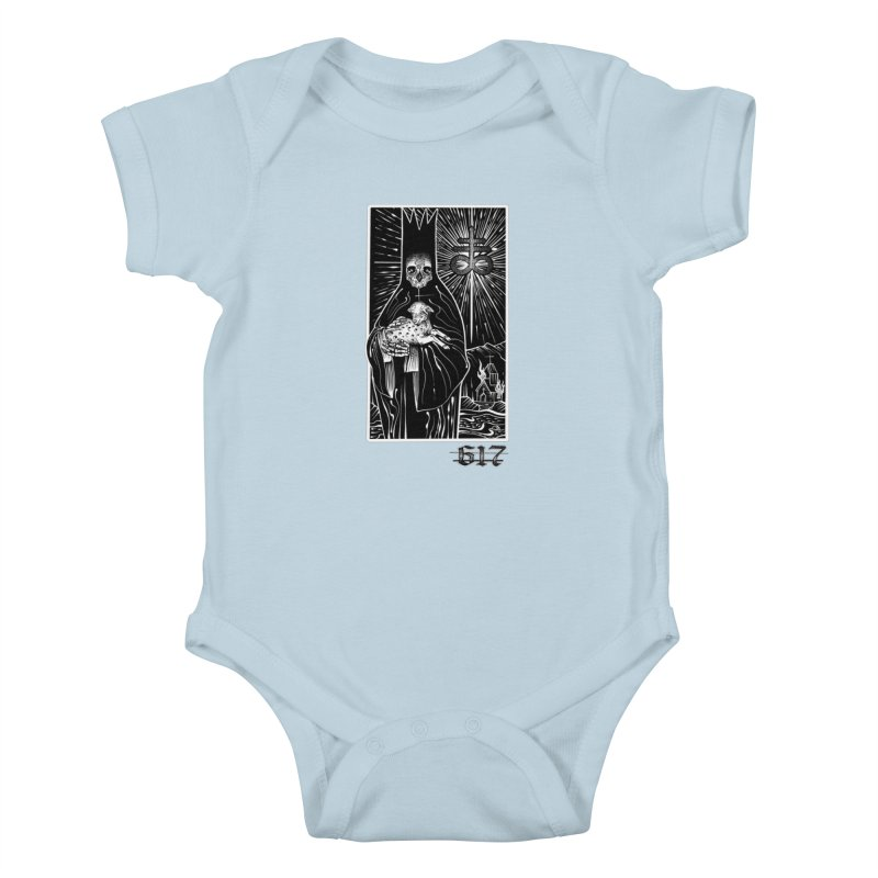 Tarot Kids Baby Bodysuit by Studio 617's Artist Shop