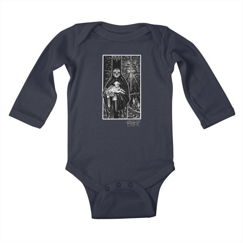 Dark Shepherd Kids Baby Longsleeve Bodysuit by Studio 617 Tattoos