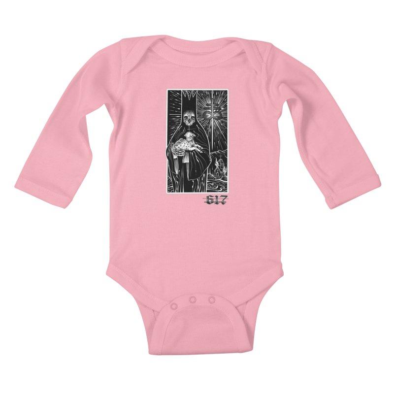 Tarot Kids Baby Longsleeve Bodysuit by Studio 617's Artist Shop
