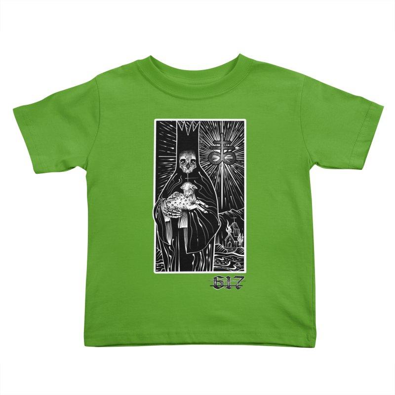 Dark Shepherd Kids Toddler T-Shirt by Studio 617 Tattoos
