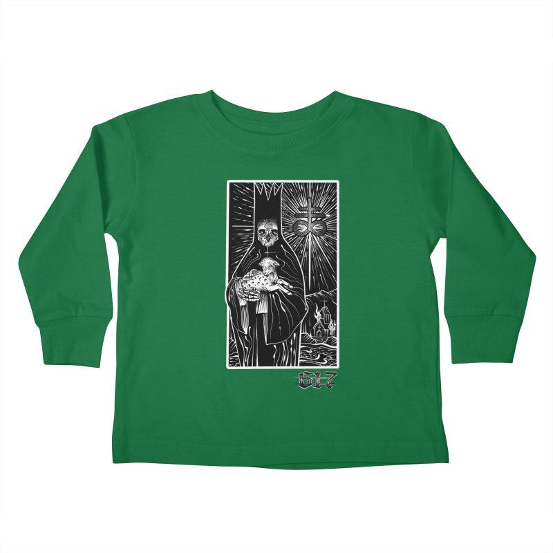 Tarot Kids Toddler Longsleeve T-Shirt by Studio 617's Artist Shop