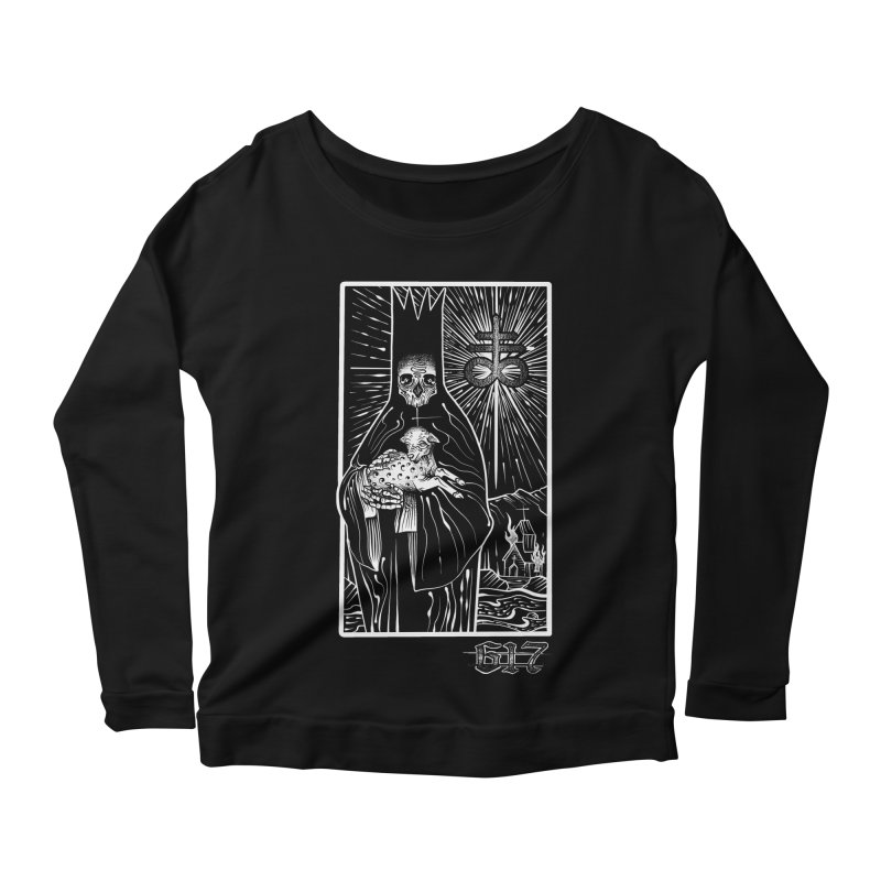 Tarot Women's Scoop Neck Longsleeve T-Shirt by Studio 617's Artist Shop