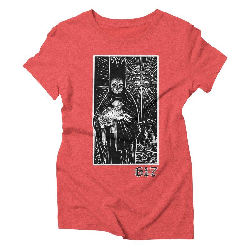Tarot Women's Triblend T-Shirt by Studio 617's Artist Shop