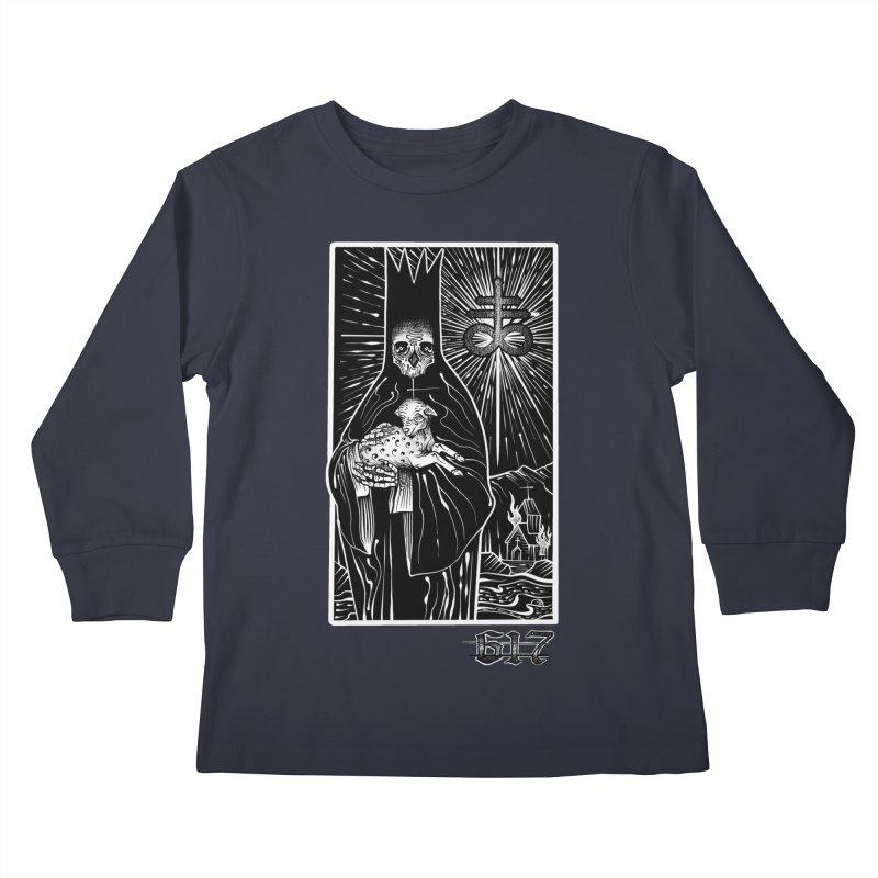 Dark Shepherd Kids Longsleeve T-Shirt by Studio 617 Tattoos