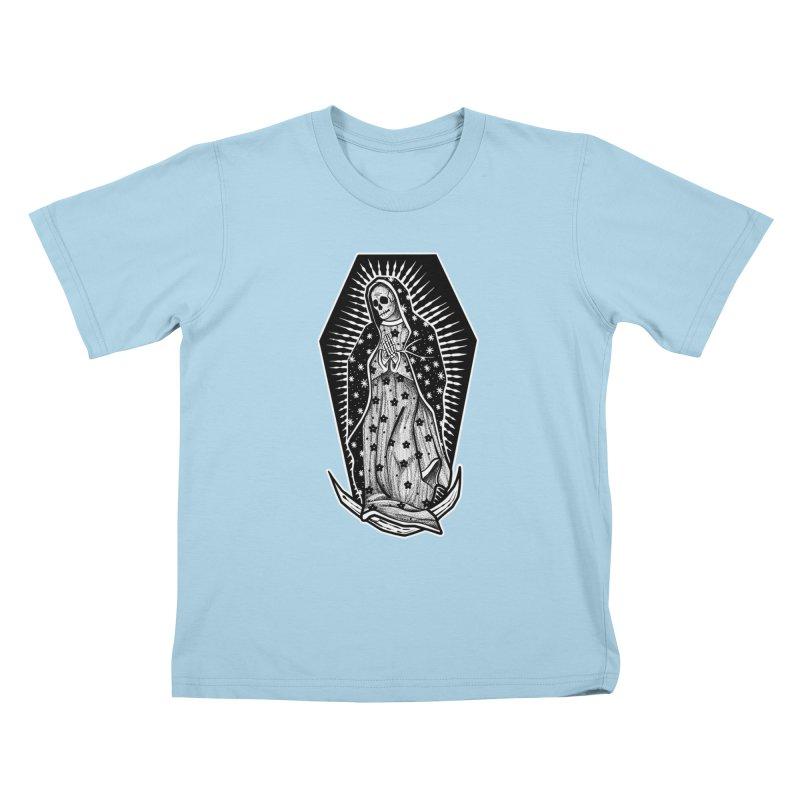 Our Lady Kids T-Shirt by Studio 617's Artist Shop