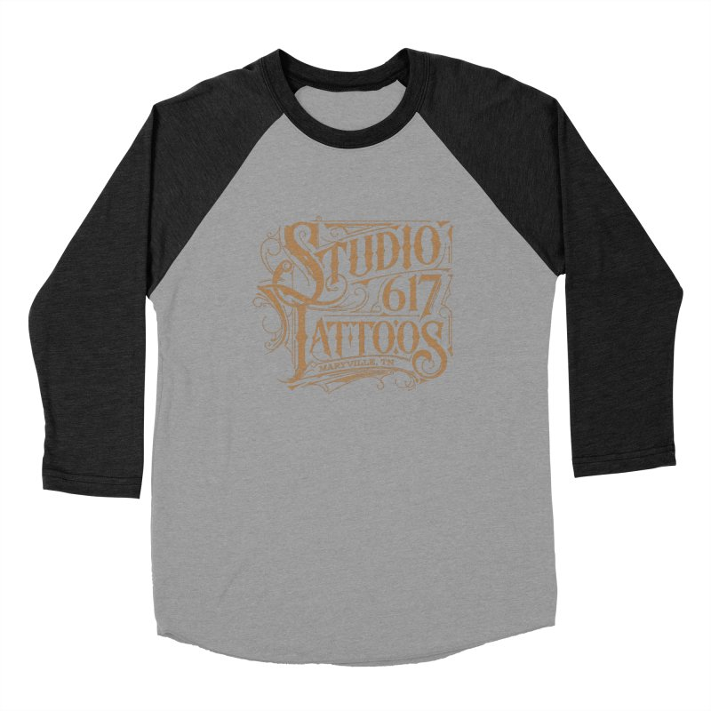 Studio 617 Logo Copper Women's Longsleeve T-Shirt by Studio 617 Tattoos