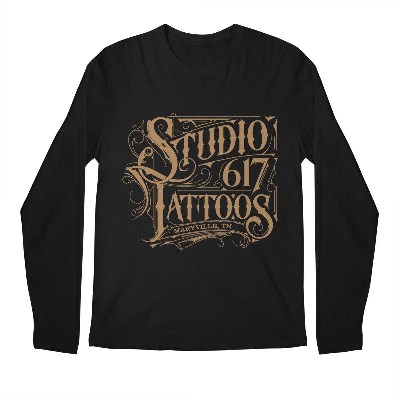 NEW Logo T Men's Regular Longsleeve T-Shirt by Studio 617's Artist Shop
