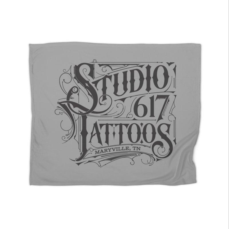 NEW Logo T Home Fleece Blanket Blanket by Studio 617's Artist Shop