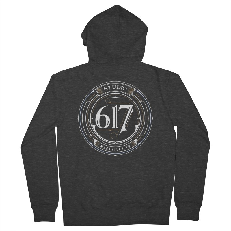 Seal of Approval Men's French Terry Zip-Up Hoody by Studio 617's Artist Shop