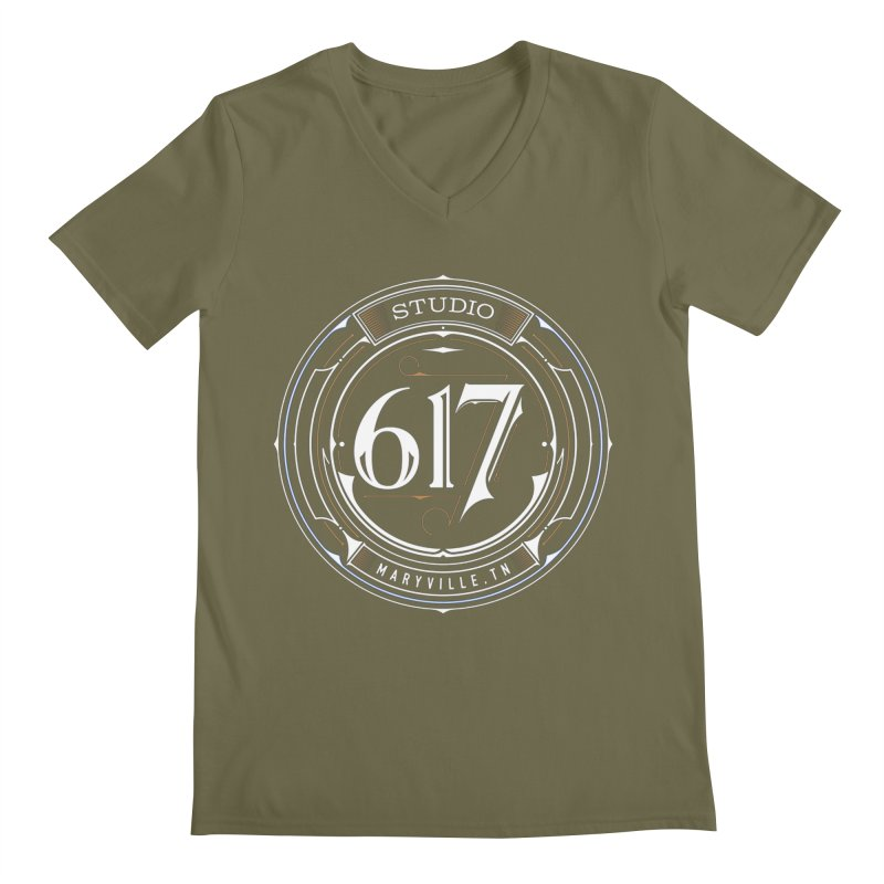 Seal of Approval Men's V-Neck by Studio 617's Artist Shop