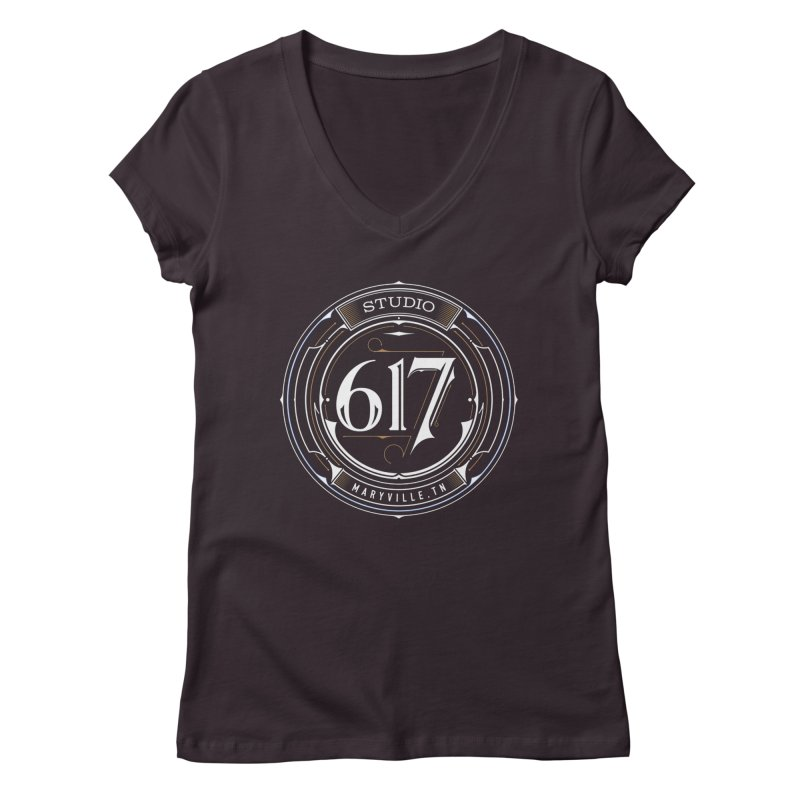Seal of Approval Women's Regular V-Neck by Studio 617's Artist Shop