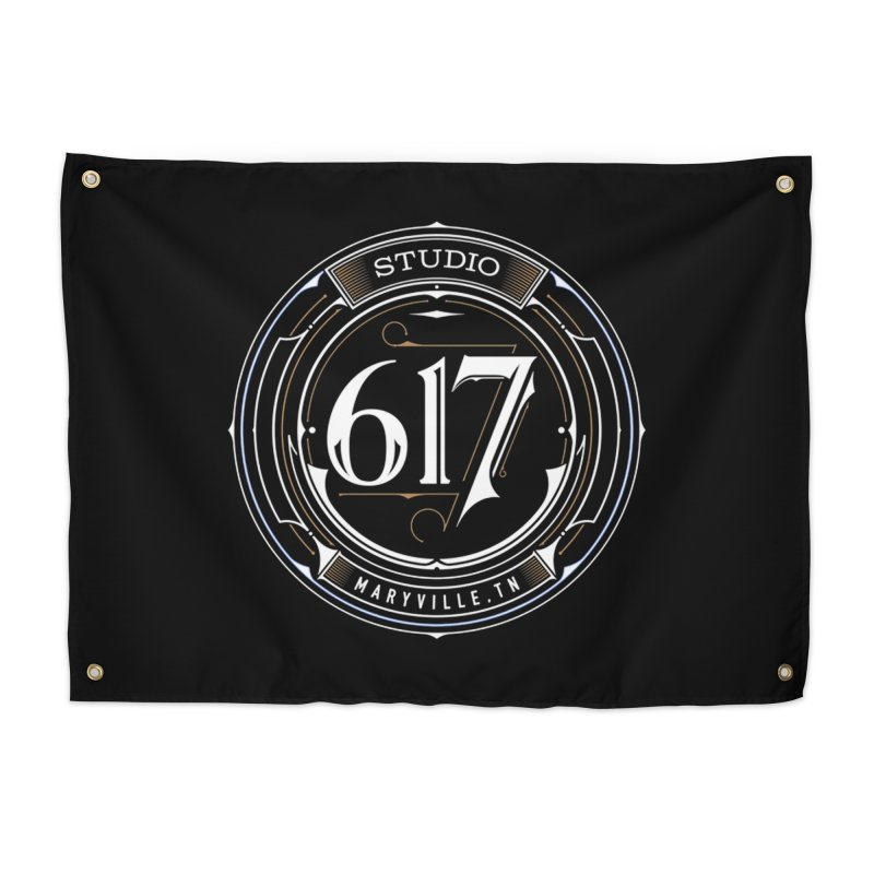 Seal of Approval Home Tapestry by Studio 617 Tattoos
