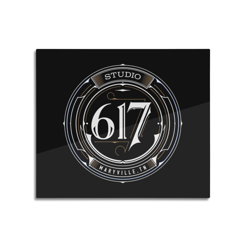 Seal of Approval Home Mounted Aluminum Print by Studio 617 Tattoos