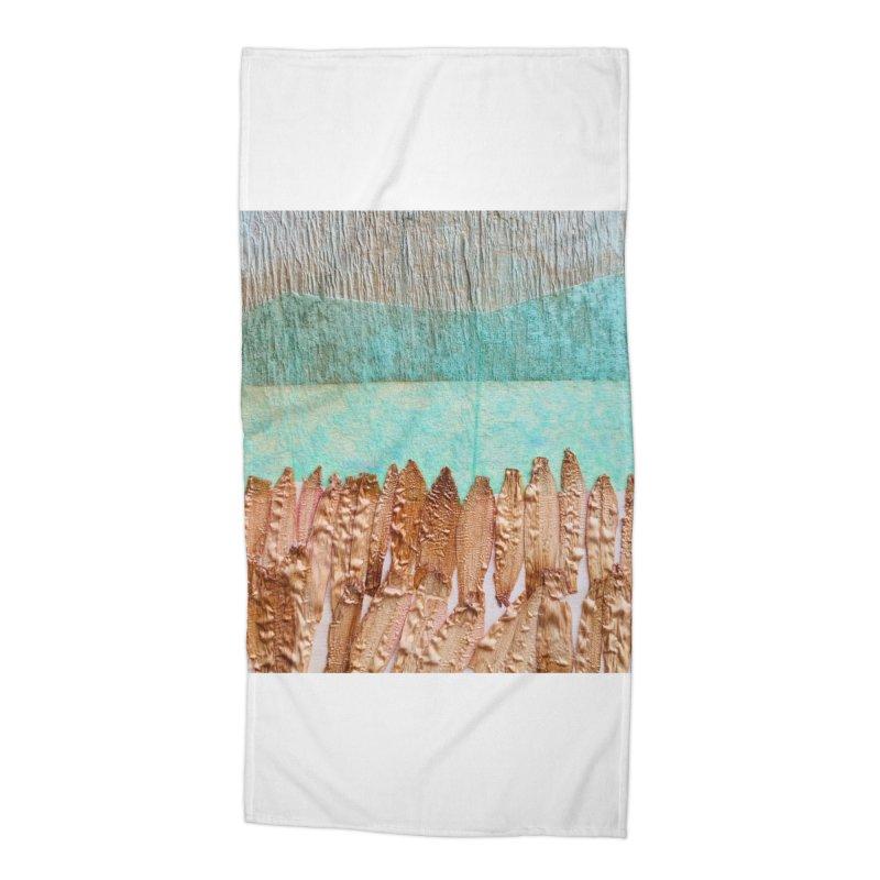 Plateau Accessories Beach Towel by Studio Art 101's Art Shop