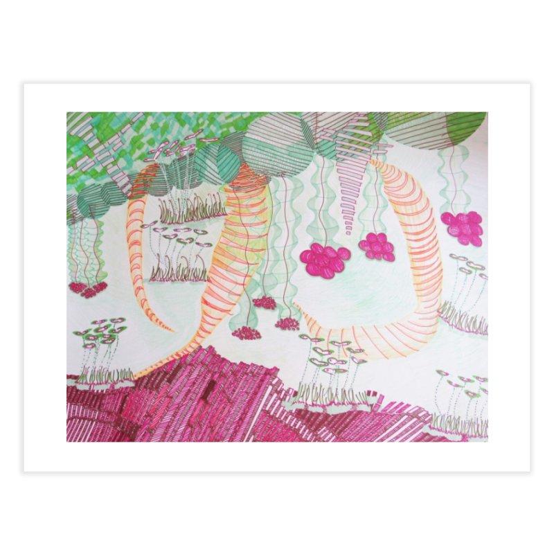 Caterpillar World Home Fine Art Print by Studio Art 101's Art Shop