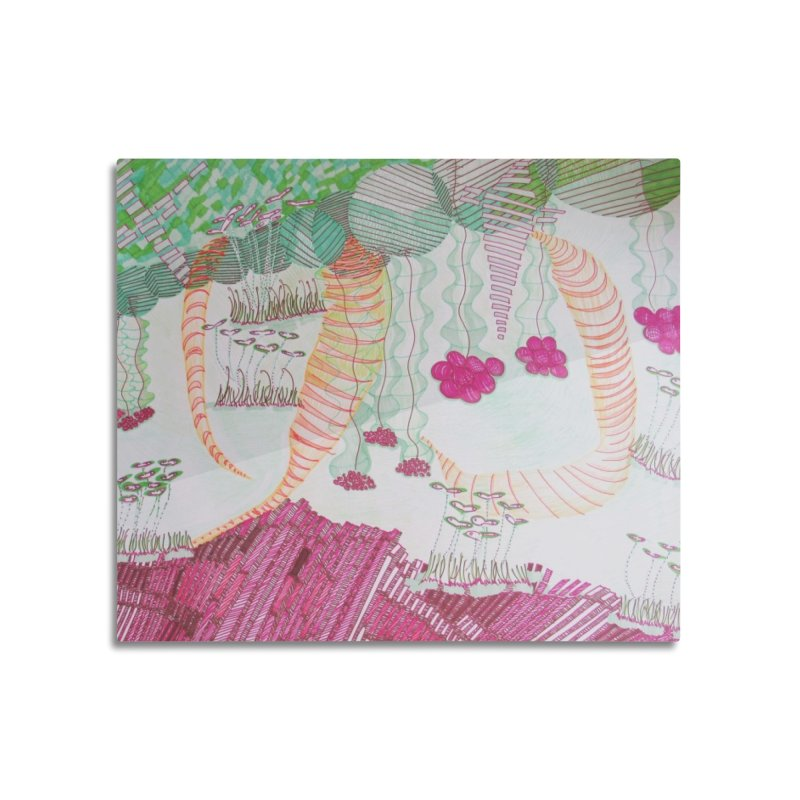 Caterpillar World Home Mounted Acrylic Print by Studio Art 101's Art Shop