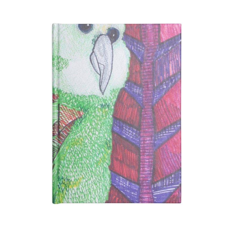 Michael the Parrot Accessories Notebook by Studio Art 101's Art Shop