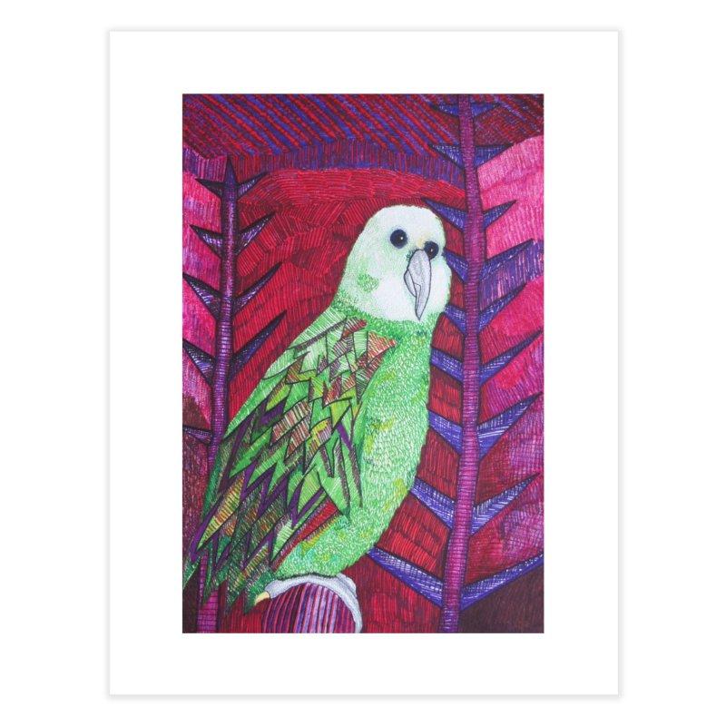 Michael the Parrot Home Fine Art Print by Studio Art 101's Art Shop