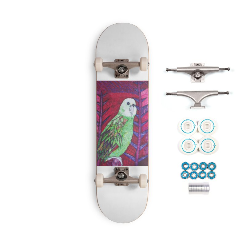 Michael the Parrot Accessories Complete - Basic Skateboard by Studio Art 101's Art Shop