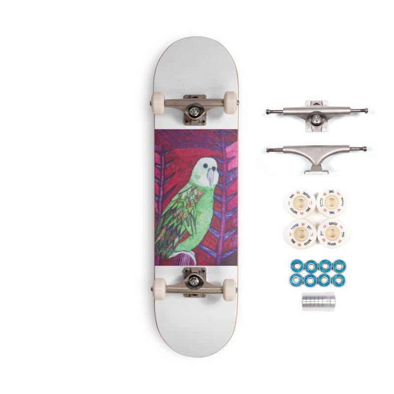 Michael the Parrot Accessories Complete - Premium Skateboard by Studio Art 101's Art Shop